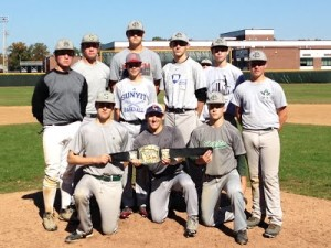 BACK TO BACK!! 2013 Plainsmen World Series Champions - Grey
